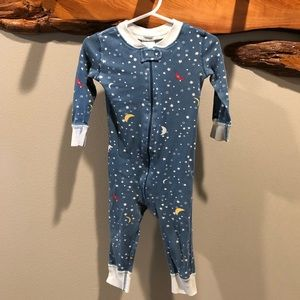Hanna Andersson moon / star pajamas - 18-24 Months